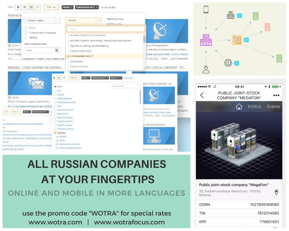 All Russian companies at your fingertips
